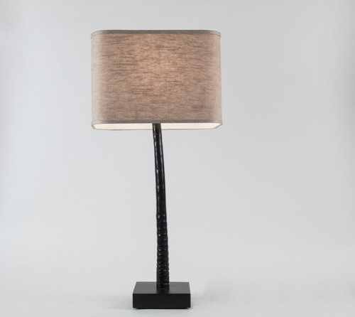 Gemsbok Horn Table Lamp