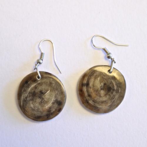 Circle Drop Earrings - Light