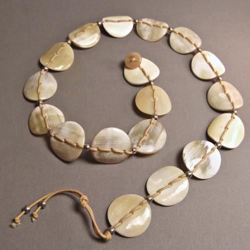 Nguni Chain Belt - Light