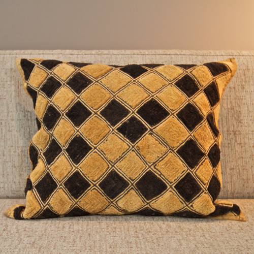 Shoowa Kuba Cloth Pillow