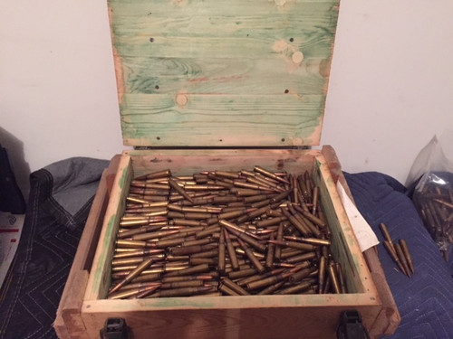 8MM Mauser Crate Yugo 900 RDS