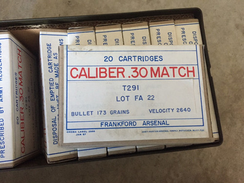 30-06 Match 20RD Box