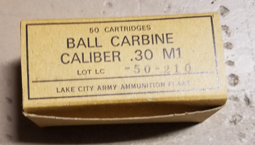30 Carbine Lake City
