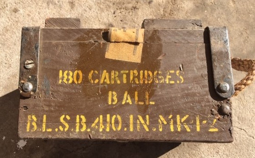 .410  Indian Enfield  Shotgun Musket  Sealed Crate