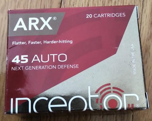 Interceptor Sport & Carry 45 20 Rounds ARX