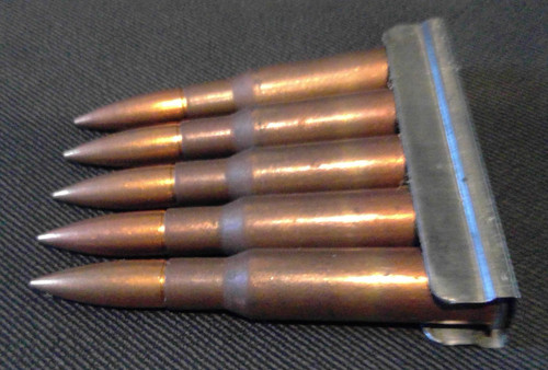 7.62x54R 1947 Dated on Stripper Clips 5  Rounds