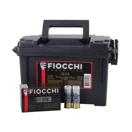 "Fiocchi Aero Slug Low Recoil 12ga 2.75"" 1oz 80/can"