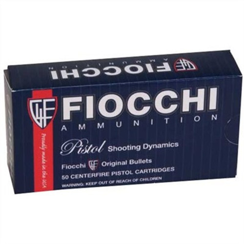 Fiocchi 9MM JHP 50RD Box 115GR