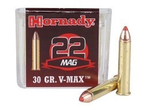 Hornady AMMO 22 WMR 30 GR V-MAX