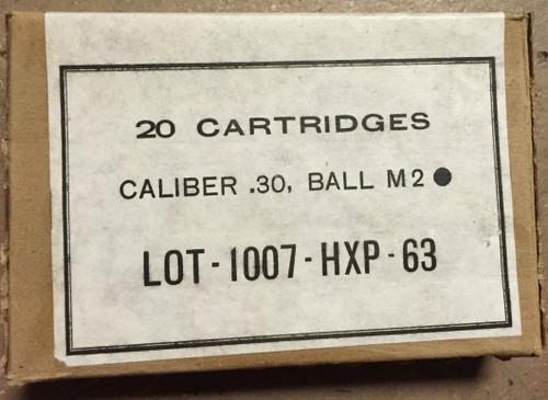 M2 Ball 30-06 HXP