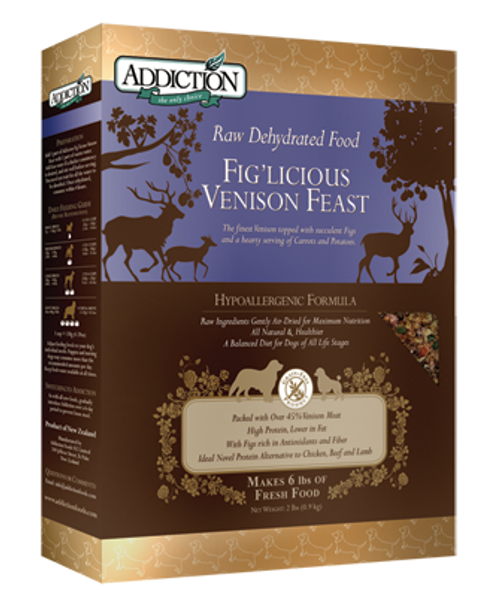 Addiction Fig'licious Venison Feast - Grain-Free