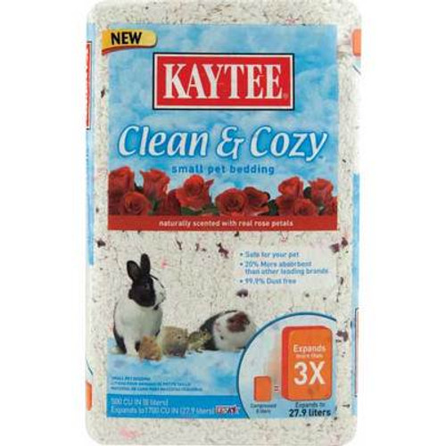 Kaytee Clean & Cozy Rose Bedding