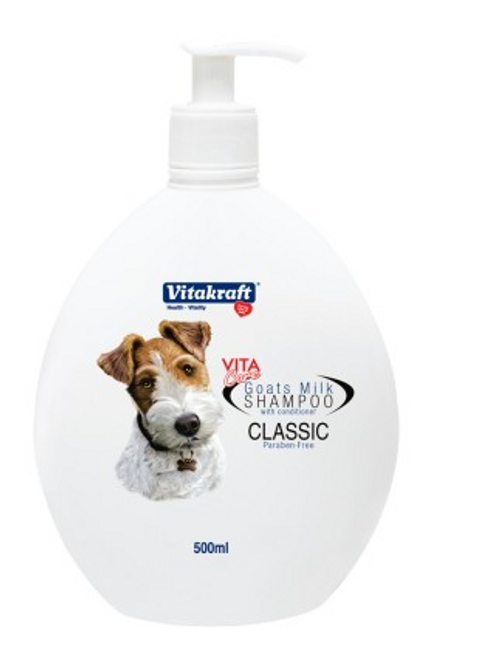 2 in 1 Goat's Milk Shampoo for Dogs Milk(Classic) Scented