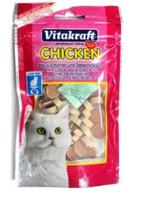 Bits Chicken meat & Pollack 50g