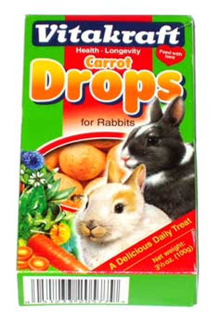 Carrot Drops Rabbits