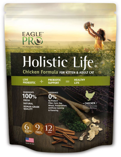 Eagle Pro Holistic Life Chicken Formula for Kitten & Adult Cat