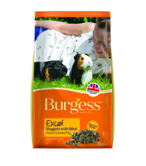Burgess Excel Adult Guinea Pig Nuggets