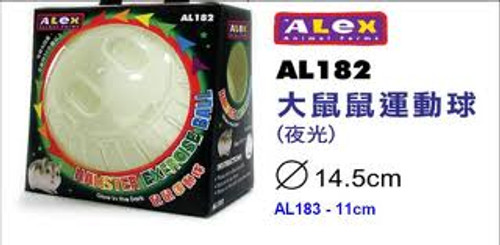 Alex Glow-in-the-Dark Hamster Running Ball
