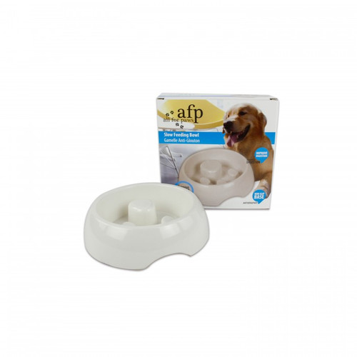 All For Paw Melamine Slow Feeding Bowl
