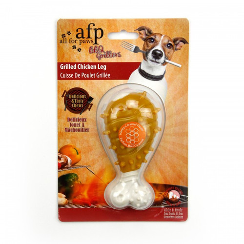 All For Paw Grilled Chicken Leg Chews- Honey Caramel Flavor