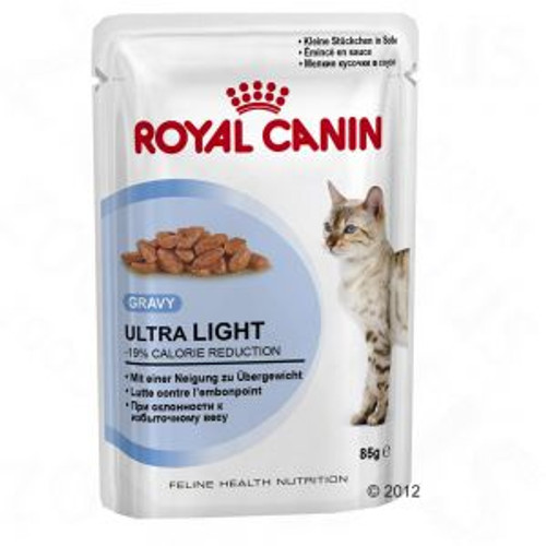Royal Canin Ultra Light  Pouch Jelly for Cats (12s)