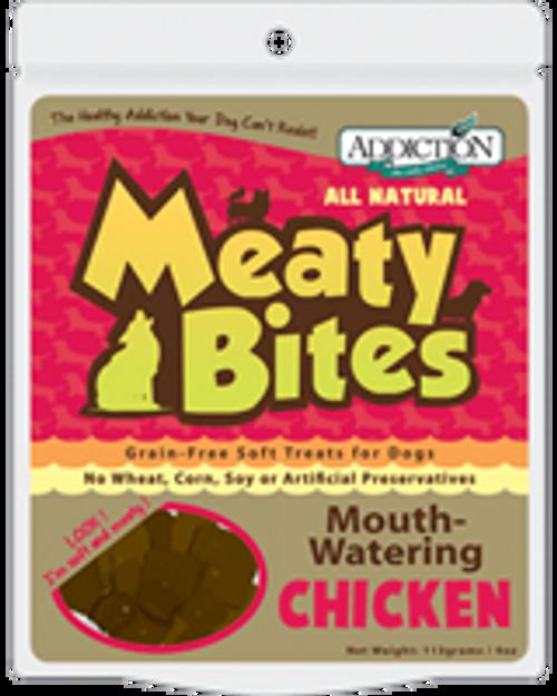 Addiction Chicken Meaty Bites Dog Treats
