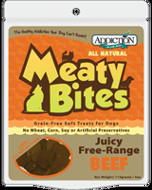 Addiction Beef Meaty Bites Dog Treats