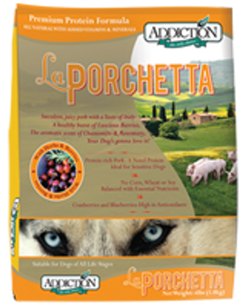 Addiction La Porchetta Dog Kibbles