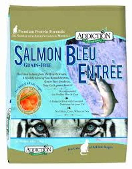 Addiction Salmon Bleu Cat Kibbles (Grain-Free)