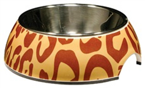 Animal Prints 2-in-1 Cat Bowl