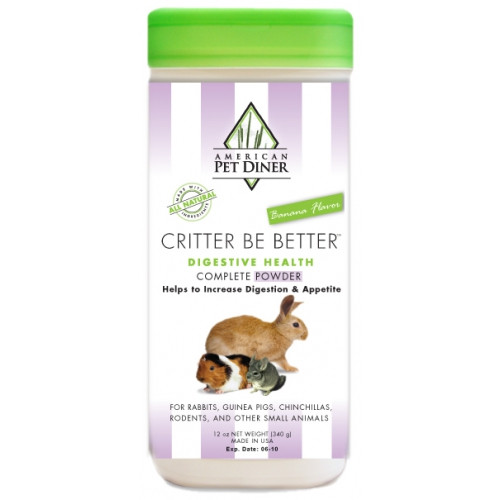 Critter Be Better Probiotics Powder