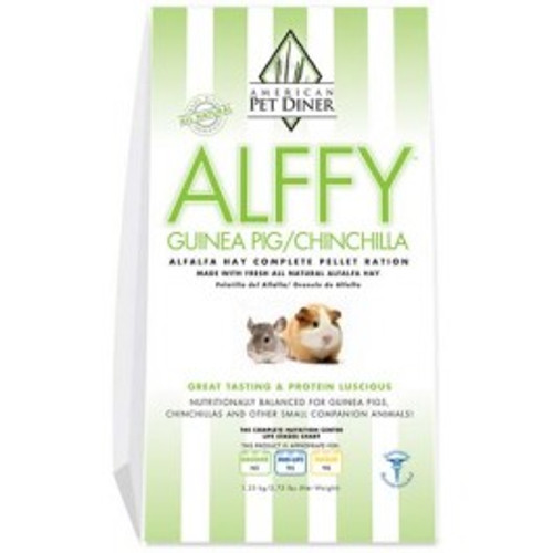 Alffy Guinea Pig & Chinchilla Pellets