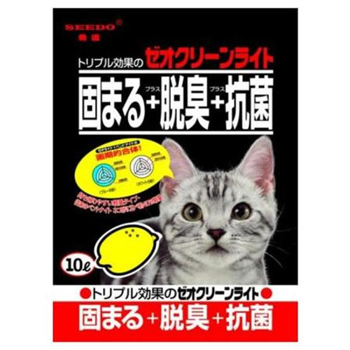 Seedo Black Cat Litter with Lemon