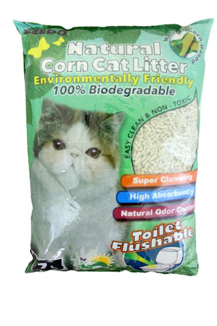 Seedo Natural Corn with Green Tea Cat Litter
