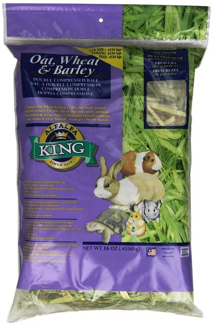 Alfalfa King Oat, Wheat & Barley Hay