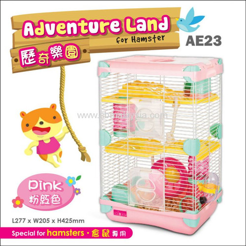 Alice Adventure Land Hamster Double-Deck Cage