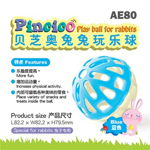 Alice Pincico Rabbit Play Ball