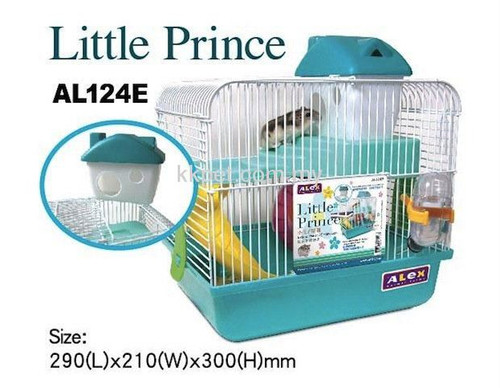 Alex Little Prince Hamster Cage Green (w/o outer box)
