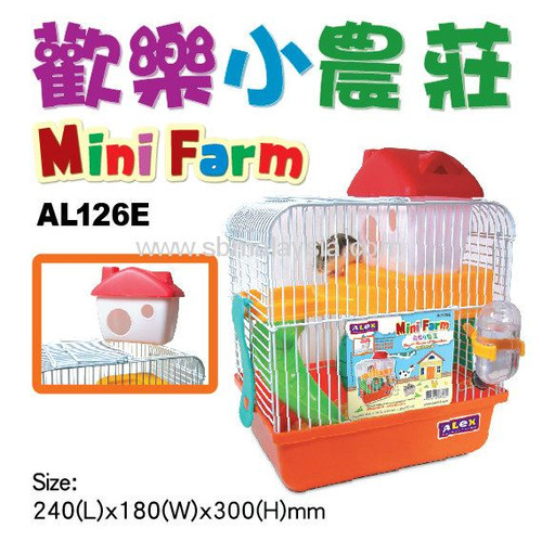Alex Mini Farm Hamster Cage (w/o outer box)