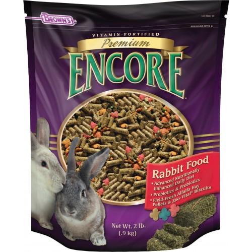 Encore rabbit food