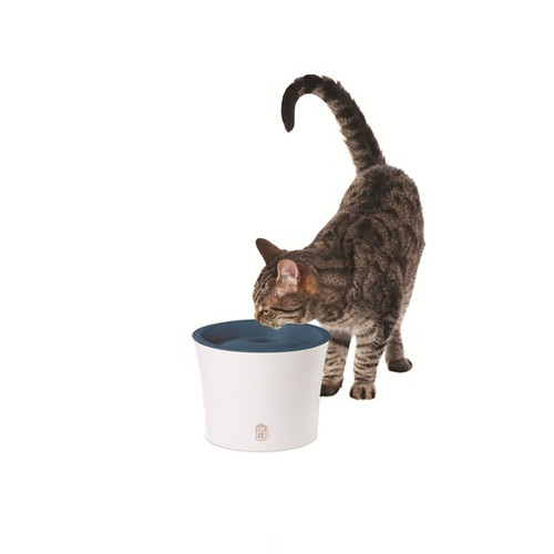 Catit Design Senses Drinking Fountain with Water Softening Filter