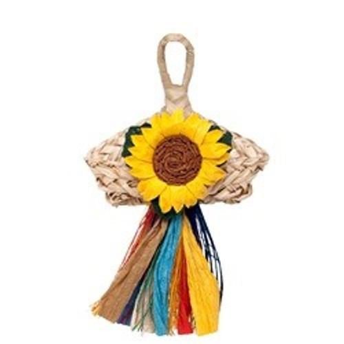 Living World Nature's Treasure Angel with Flower, For extra-small, small, medium hookbills