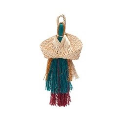 Living World Nature's Treasure Angel with Folded Fan, For extra-small, small, medium hookbills