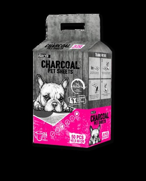 Absorb Charcoal Pet sheet 50pcs (45x60cm)