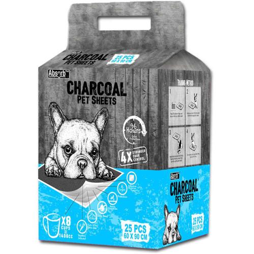 Absorb Charcoal Pet Sheets 25pcs (60x90cm)