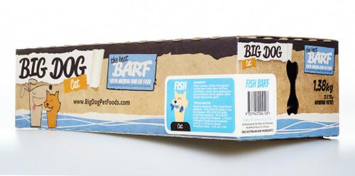 Big Dog Barf Raw Fish for Cats