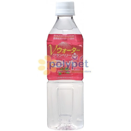 Happy Pet V Water Cranberry Plus Drink 500ml