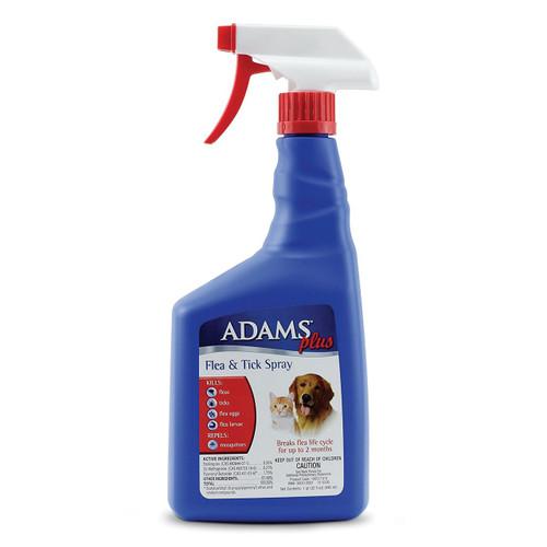 AdamsPlus Flea & Tick Spray 473ml