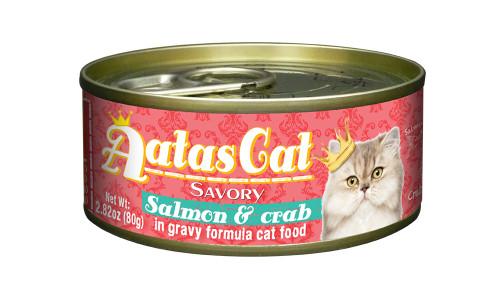 Aatas Cat Salmon & Crab in Gravy