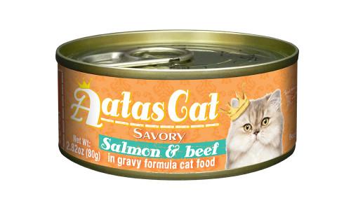 Aatas Cat Salmon & Beef in Gravy